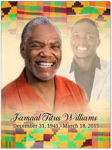 Ashanti Memorial Portraits Poster
