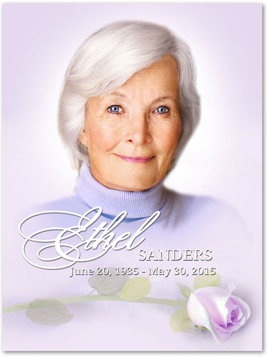 Beloved In Loving Memory Memorial Portrait Poster