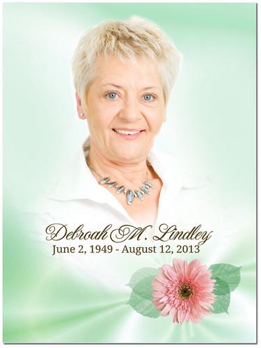 Blossom In Loving Memory Memorial Portrait Poster