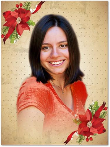 Carol In Loving Memory Memorial Portrait Poster