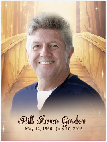 Crossing In Loving Memory Memorial Portrait Poster