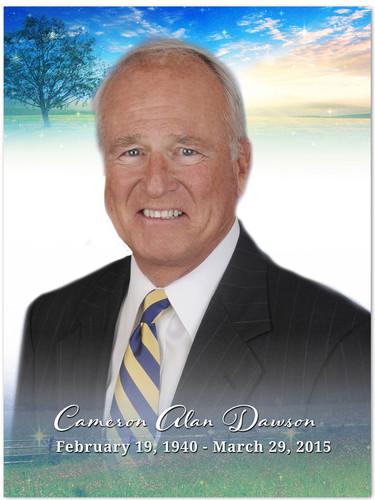 Destiny In Loving Memory Memorial Portrait Poster