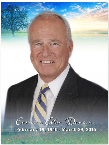 Destiny In Loving Memory Memorial Portrait Poster