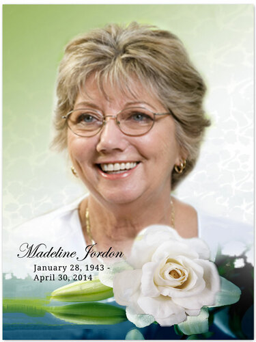 Divine In Loving Memory Memorial Portrait Poster
