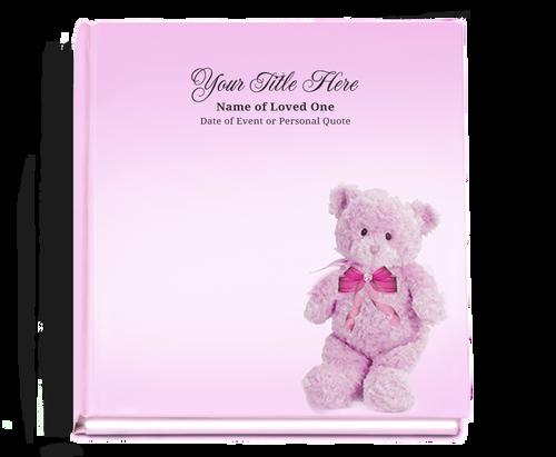 nurserygirl baby funeral guest book