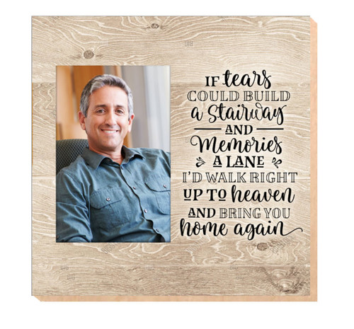 Tears Could Build Stairway In Loving Memory Memorial Photo