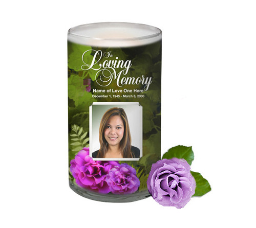 Essence Memorial Glass Candle 3x6