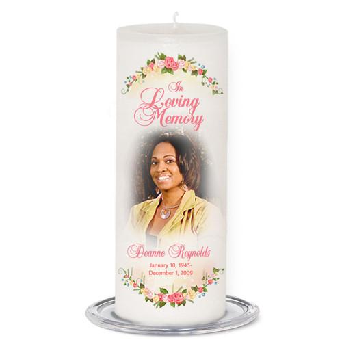 Victoria Memorial Pillar Candles
