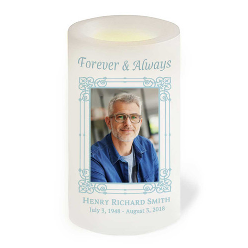 Dandy Flameless In Loving Memory Memorial LED Candle front