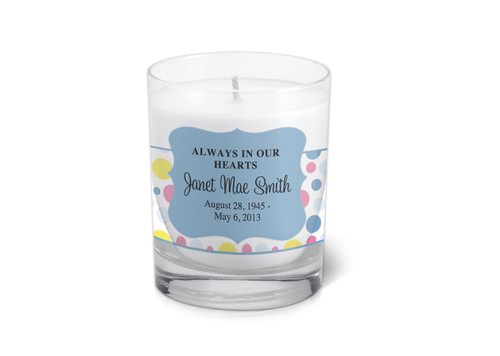 Addison Memorial Votive Candle