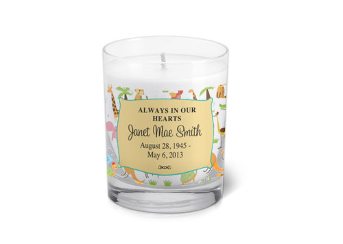 Candace Memorial Votive Candle