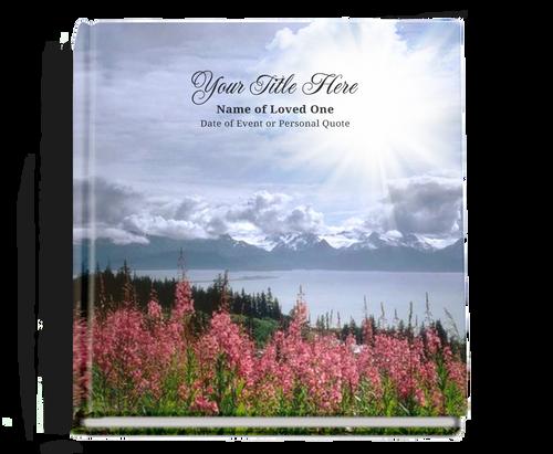seasons funeral guest book