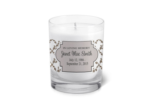 Sanders Memorial Votive Candle