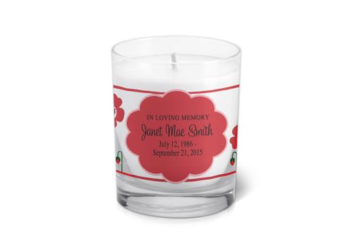 Scarlett Memorial Votive Candle