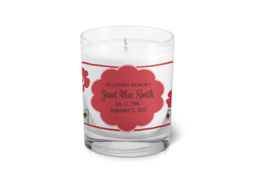 Scarlett Memorial Votive Candle