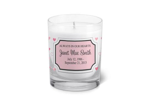 Sophia Memorial Votive Candle