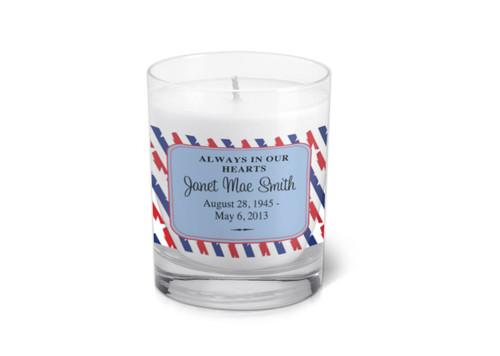 Veteran Memorial Votive Candle