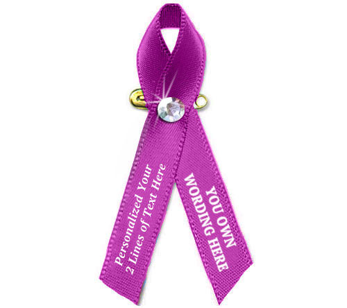 Customize Your Own Awareness Ribbon - Pack of 10