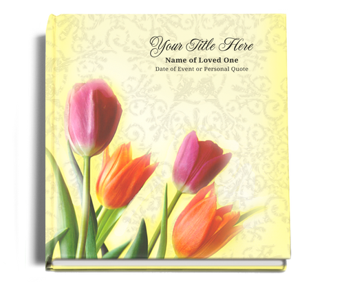 sunny funeral guest book