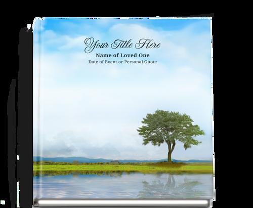 treasure funeral guest book