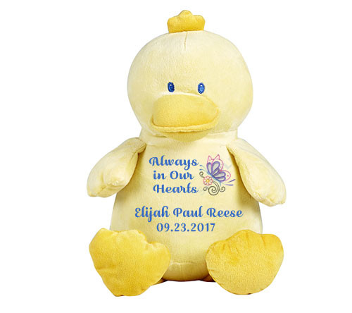 Ducky Memorial Stuffed Animal/Urn