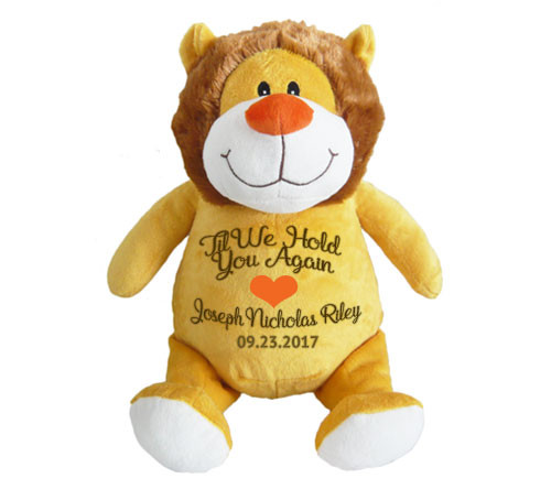 Leo Lion Memorial Stuffed Animal/Urn