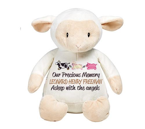 Lil Lamb Memorial Stuffed Animal/Urn