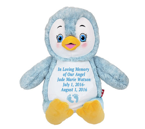 Puddles Penguin Memorial Stuffed Animal/Urn