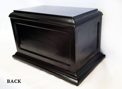 Air Force Wood Cremation Urn