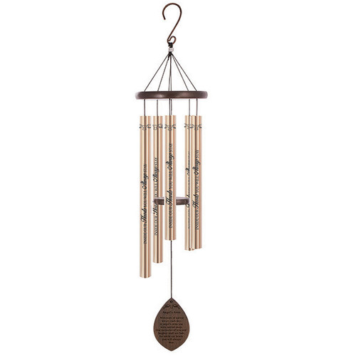 Angel's Arms Wood Comfort Sonnet Wind Chime