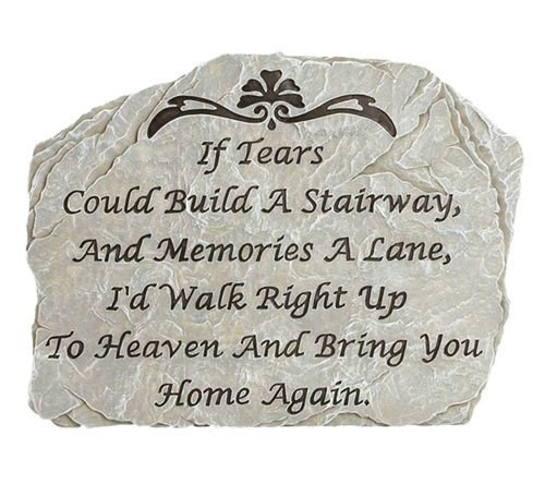 Personalized Build A Stairway Memorial Garden Stepping Stone