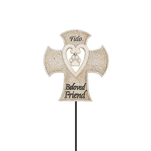 Beloved Friend Pick Garden Stake