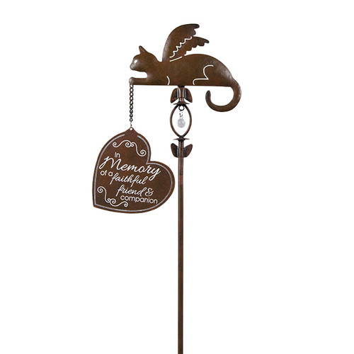 Faithful Friend & Companion Hanging Sign Garden Stake