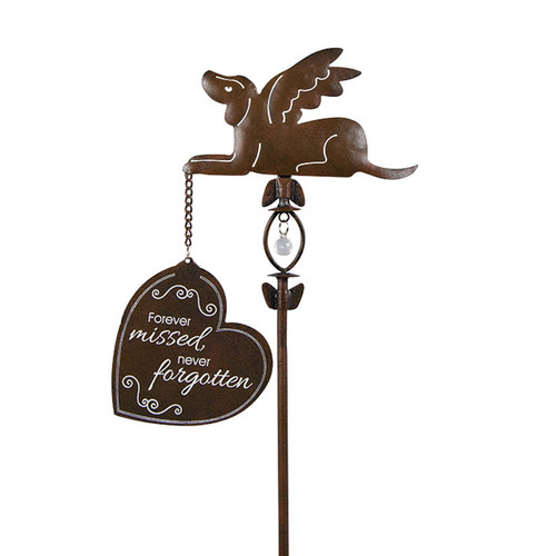 Forever Missed Pet Hanging Sign Garden Stake