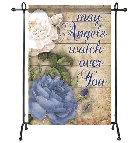 Angels Watch Over You Garden or Cemetery Flag