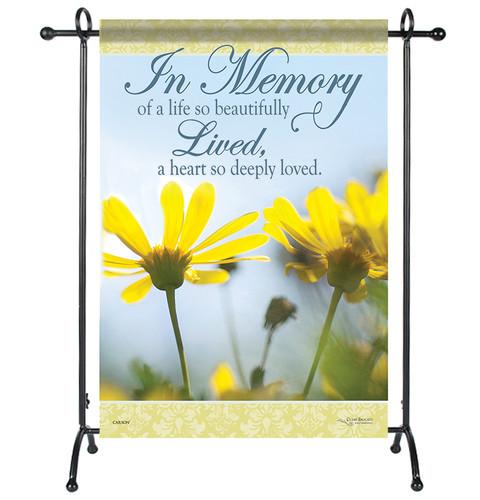 In Memory Garden or Cemetery Flag