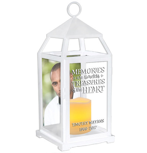 Timeless Memories Memorial Lantern With LED Candle
