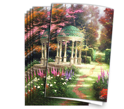Thomas Kinkade Garden of Prayer Program Paper