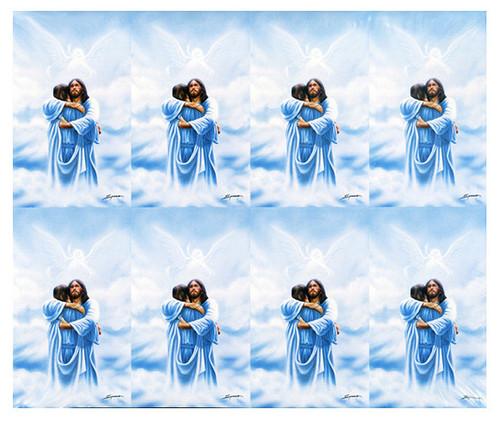 Homecoming Christian Prayer Card Paper (Set of 8)