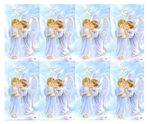 Lil Angel Secrets Spiritual Prayer Card Paper (Set of 8)