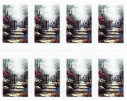 Thomas Kinkade® Garden of Promise Prayer Card Paper (Set of 8)