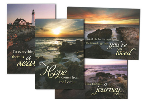 Light in the Darkness Sympathy Cards (Box of 12)
