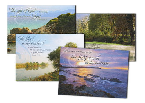 Peaceful Reflections Sympathy Cards (Box of 12)