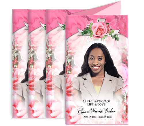 Precious Funeral Trifold Brochure Design & Print (Pack of 25)
