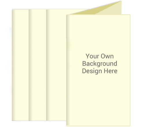 Your Background Funeral Trifold Brochure Design & Print (Pack of 25)