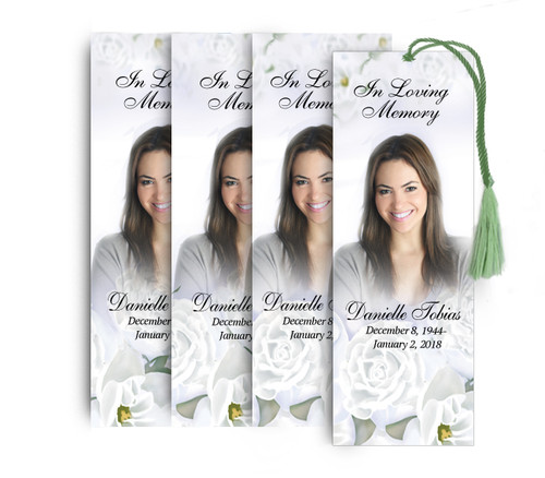 Awakening Memorial Funeral Bookmark Design & Print (Pack of 25)