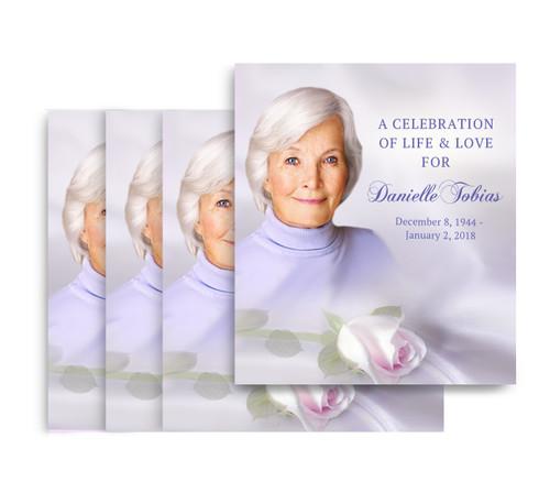 Beloved No Fold Memorial Card Design & Print