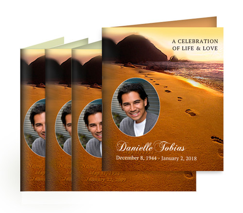 You Design Memorial Card Printing Service (Pack of 25)