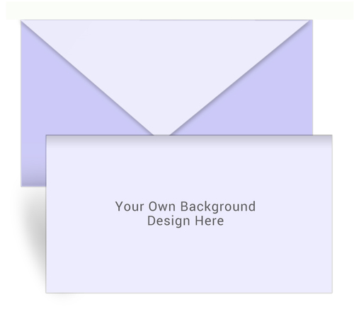 Your Background Envelope Fold Funeral Program Design & Print (Pack of 25)