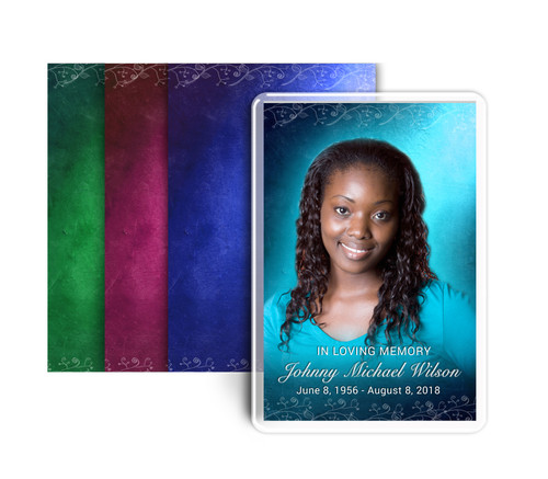 Devotion Funeral Prayer Card Design & Print (Pack of 25)